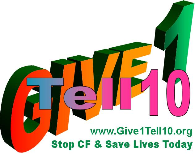 give1 tell10 logo